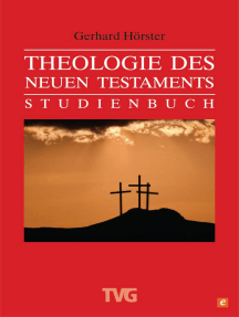 Theologie des Neuen Testament: Studienbuch