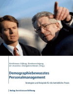 Demographiebewusstes Personalmanagement