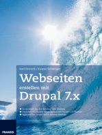 Webseiten erstellen mit Drupal 7.X