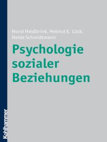 Psychologie sozialer Beziehungen