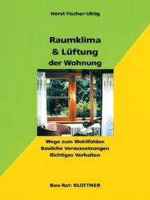 Raumklima & Lüftung der Wohnung: Wege zum Wohlfühlen. Bauliche Voraussetzungen. Richtiges Verhalten.