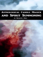 Astrological Candle Magick and Spirit Summoning