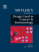 Meyler's Side Effects of Drugs in Cancer and Immunology