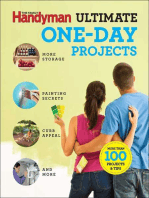 Family Handyman Ultimate 1 Day Projects