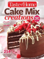 Taste of Home Cake Mix Creations Brand New Edition