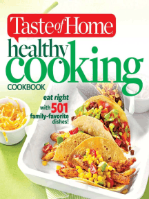 Taste of Home Healthy Cooking Cookbook: Eat right with 350 family favorite dishes!