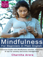 Mindfulness for Beginners in Plain English