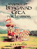 Essence of Bhagavad Gita for Learners