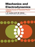 Mechanics and Electrodynamics