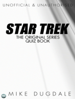 Star Trek The Original Series Quiz Book