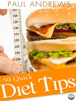 50 Quick Diet Tips