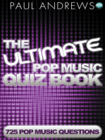 The Ultimate Pop Music Quiz Book