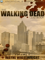 The Walking Dead Quiz Book