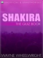 Shakira - The Quiz Book