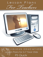 10 Religious Education Lesson Plans for 5-7 Year Olds