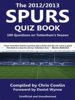 The 2012/2013 Spurs Quiz Book