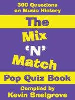 The Mix 'N' Match Pop Quiz Book