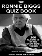 The Ronnie Biggs Quiz Book
