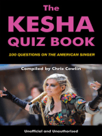 The Kesha Quiz Book