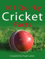 101 Quirky Cricket Facts