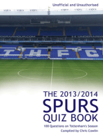 The 2013/2014 Spurs Quiz Book