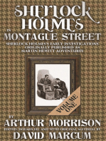 Sherlock Holmes in Montague Street - Volume 1