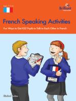French Speaking Activites (KS2)