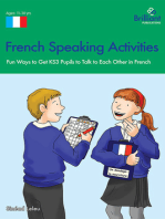 French Speaking Activities (KS3): Fun Ways to Get KS3 Pupils to Talk to Each Other in French