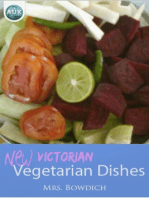 New (Victorian) Vegetarian Dishes