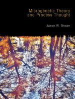 Microgenetic Theory and Process Thought