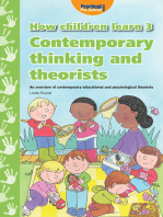 How Children Learn - Book 3: Contemporary Thinking and Theorists