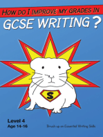 How Do I Improve My Grades In GCSE Writing?