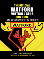 The Official Watford Football Club Quiz Book