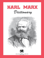 Karl Marx Dictionary