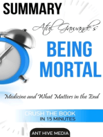 Atul Gawande's Being Mortal
