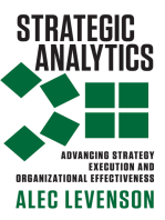 Strategic Analytics: Advancing Strategy Execution and Organizational Effectiveness