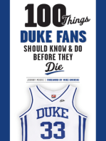 100 Things Duke Fans Should Know & Do Before They Die