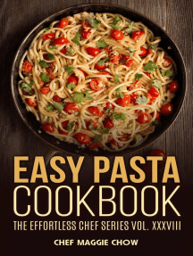Easy Pasta Cookbook