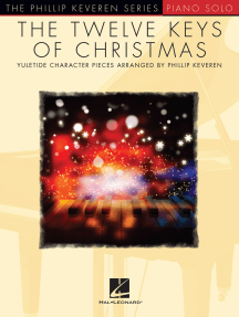 The Twelve Keys of Christmas: arr. Phillip Keveren The Phillip Keveren Series Piano Solo