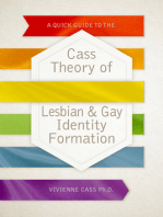 A Quick Guide to the Cass Theory of Lesbian & Gay Identity Formation