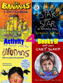 4 Activity Books Vol. II: Fun & Learning for Families