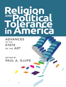 Religion and Political Tolerance in America: Advances in the State of the Art