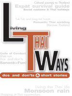 Living Thai Ways - DOs and DON'Ts