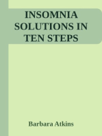 Insomnia Solutions in Ten Steps