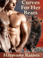 Curves For Her Bears (BBW Shifter Erotic Romance, #1)