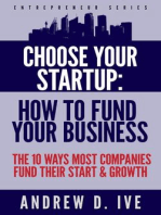 Choose Your Startup