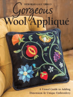Gorgeous Wool Appliqué