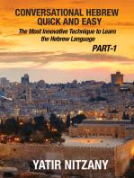 Conversational Hebrew Quick and Easy