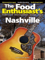 Nashville - 2016 (The Food Enthusiast's Complete Restaurant Guide)