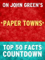 Paper Towns - Top 50 Facts Countdown